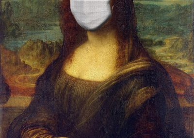 Mona Lisa Masked