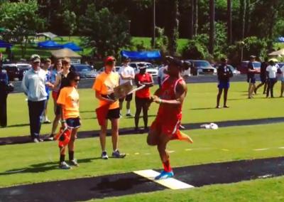long Jump Athlete